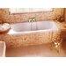Britton Bathrooms Verde 180cm x 80cm Recessed Soaking Bathtub