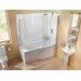 Britton Bathrooms Eco 170cm x 90cm Shower Bath Soaking Bathtub
