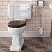 Burlington Close Coupled Toilet with Seat