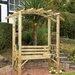 Grange Fencing Romana Wooden Garden Bench