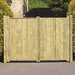 Grange Fencing Fortress Tall Double Gates