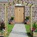Grange Fencing Elite Rose Arch