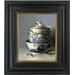 Brookpace Fine Art Oleographs 'Chinese Bowls and Silver Spoon' Framed Photographic Print