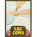 LivCorday Lac de Como Travel Vintage Advertisement Wrapped on Canvas