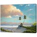 LivCorday Miami Nature Scene 4 Art Print Wrapped on Canvas
