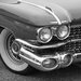 David & David Studio 'Cars in Black and White 1' by Philippe David Framed Photographic Print