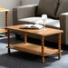 Andover Mills Ora Coffee Table with Magazine Rack