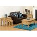 Andover Mills Classic Corona Rustic 3 Piece Nest of Tables