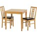 Andover Mills Lovejoy Dining Table and 2 Chairs