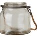 Andover Mills Glass Jar With Jute Handle