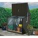 Trimetals Gartenbox Stowaway aus PVC / Stahl
