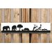 Factory4Home Schild-Set SH-Safari Elephant small, Bilddruck