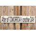 Factory4Home Schild-Set BD-After all tomorrow, Typographische Kunst in Weiß