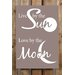 Factory4Home Schild-Set BD-Live by the Sun, Typographische Kunst in Taupe