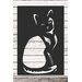 Factory4Home Schild-Set SH-Cat, Grafische Kunst in Schwarz