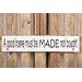 Factory4Home Schild-Set BD-A good home, Typographische Kunst in Weiß