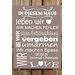 Factory4Home Schild-Set BD-In diesem Haus, Typographische Kunst in Taupe
