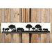 Factory4Home Schild-Set SH-Safari Rhino, Bilddruck