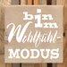 Factory4Home Schild-Set BD-Bin in Wohlfühl-Modus, Typographische Kunst