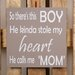 Factory4Home Schild-Set BD-So there's this boy, Typographische Kunst in Taupe