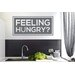 Cut It Out Wall Stickers Feeling Hungry Wall Sticker