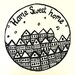 Cut It Out Wall Stickers Home Sweet Home Row of Houses Wall Sticker