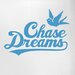 Cut It Out Wall Stickers Chase Dreams with Cute Bird Door Room Wall Sticker