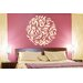 Cut It Out Wall Stickers Flowers And Leafs Within Circle Wall Sticker