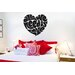 Cut It Out Wall Stickers All We Need Is Love In Heart Shape Wall Sticker
