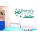 Cut It Out Wall Stickers Personalised Under The Sea Kids Room Sign Wall Sticker