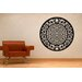 Cut It Out Wall Stickers Asian Motif With Floral Dragons Wall Sticker