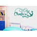 Cut It Out Wall Stickers Personalised Ship Anchor Kids Room Sign Wall Sticker