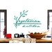 Cut It Out Wall Stickers Vegetarian Kitchen Wall Sticker