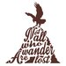 Cut It Out Wall Stickers Not All Who Wander Are Lost Eagle Wall Sticker