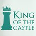 Cut It Out Wall Stickers King of the Castle Chess Piece Door Room Wall Sticker