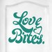 Cut It Out Wall Stickers Love Bites Door Room Wall Sticker