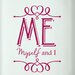 Cut It Out Wall Stickers Me Myself and I Door Room Wall Sticker