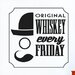 Cut It Out Wall Stickers Original Whiskey Every Friday Wall Sticker