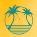 Cut It Out Wall Stickers Palm Trees Wall Sticker