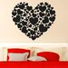 Cut It Out Wall Stickers Hearts Made Of Hearts Wall Sticker