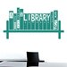 Cut It Out Wall Stickers Plato A House That Has A Library In It Has A Soul Wall Sticker