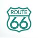Cut It Out Wall Stickers Route 66 Wall Sticker