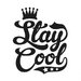 Cut It Out Wall Stickers Stay Cool Wall Sticker