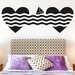 Cut It Out Wall Stickers Sailing To Love Hearts Wall Sticker