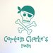 Cut It Out Wall Stickers Personalised Pirate Captains Skull And Bones Kids Room Sign Wall Sticker