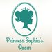 Cut It Out Wall Stickers Personalised Princess Portrait Little Girls Room Sign Wall Sticker