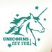 Cut It Out Wall Stickers Unicorns Are Real Wall Sticker