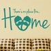 Cut It Out Wall Stickers There's No Place Like Home Wall Sticker
