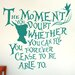 Cut It Out Wall Stickers Peter Pan The Moment You Doubt Whether You Can Fly Wall Sticker