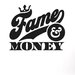 Cut It Out Wall Stickers Fame And Money Wall Sticker